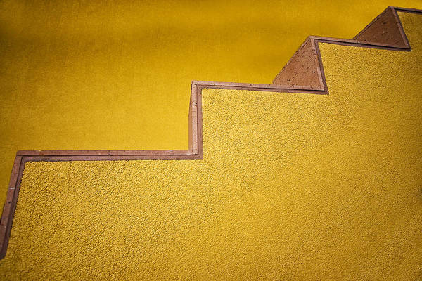 Photograph - Yellow Steps by Melinda Ledsome