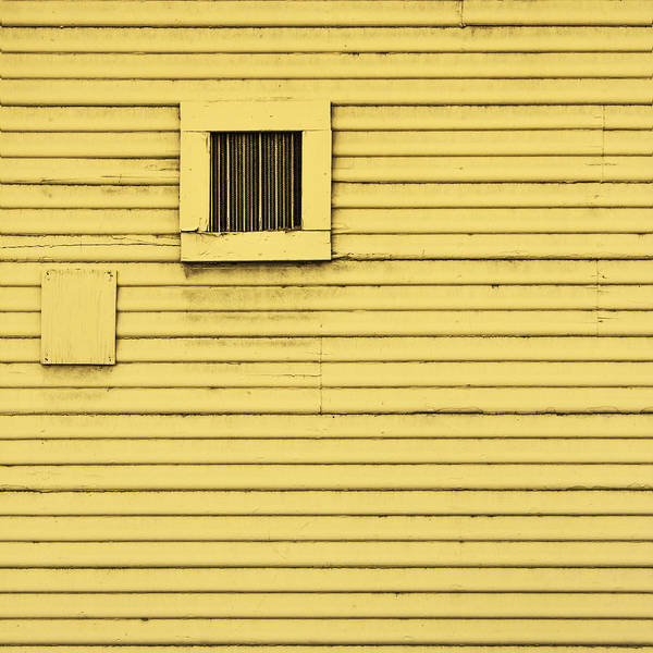 Photograph - Yellow Wall by Lee Harland