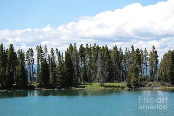 Photograph - Yellowstone Lake by Carol Groenen