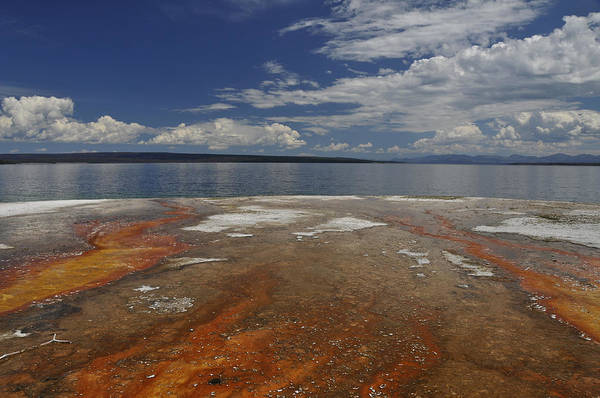 Photograph - Yellowstone Lake by Lee Kirchhevel