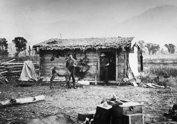Photograph - Yellowstone Ranch, 1872 by Granger