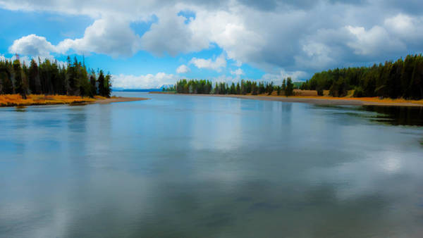 Photograph - Yellowstone River by Brenda Jacobs