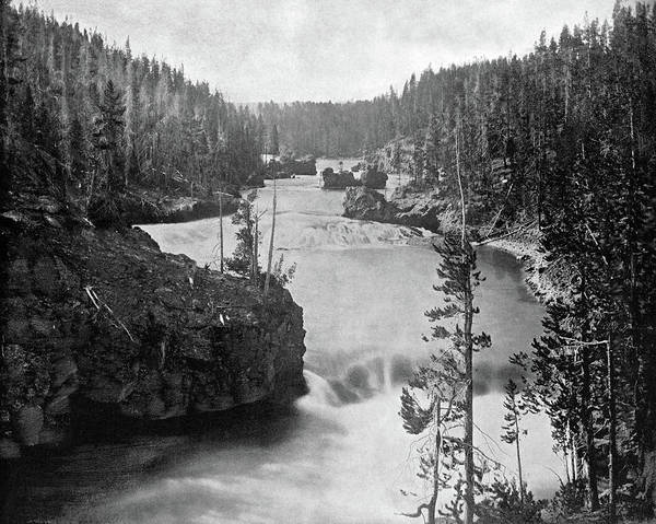 Photograph - Yellowstone River, C1890 by Granger