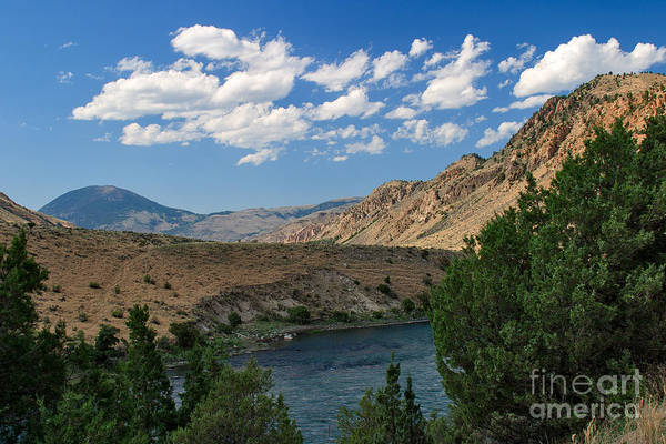 Photograph - Yellowstone River Overlook by Charles Kozierok