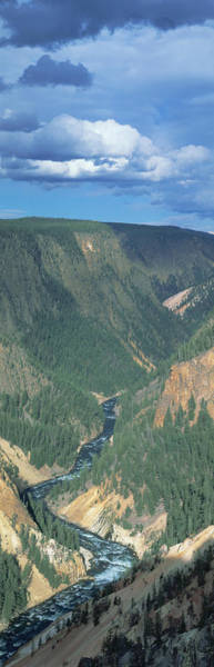 Continental Divide Photograph - Yellowstone River, Yellowstone National by Panoramic Images