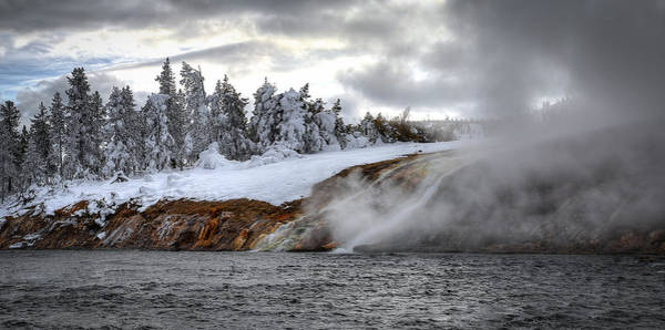 Photograph - Yellowstone's Fire And Ice by Ryan Smith