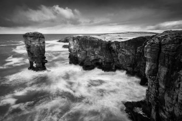 Wall Art - Photograph - Yesnaby Castle by Dave Bowman