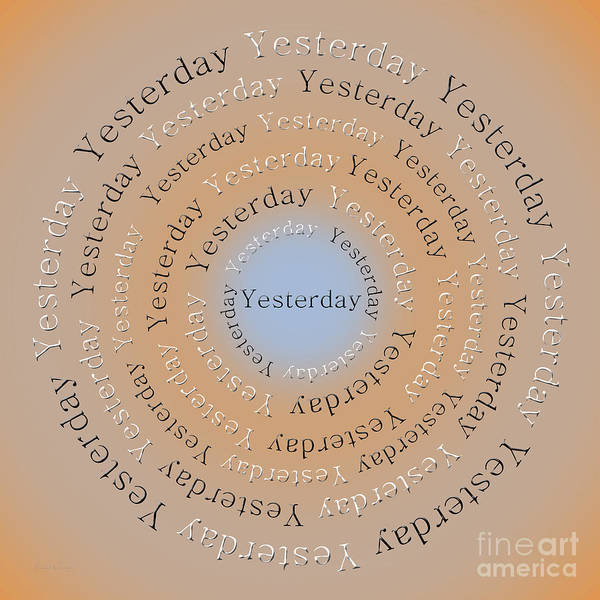 Digital Art - Yesterday 3 by Andee Design