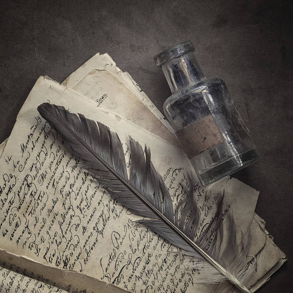 Ink Pen Photograph - Yesteryear by Amy Weiss