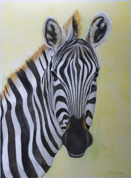 Yipes Stripes Art Print