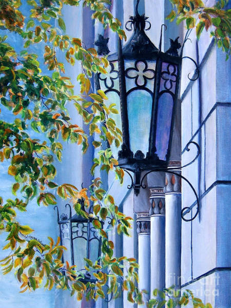 Painting - Ymca Building Downtown Shreveport Louisiana by Lenora  De Lude