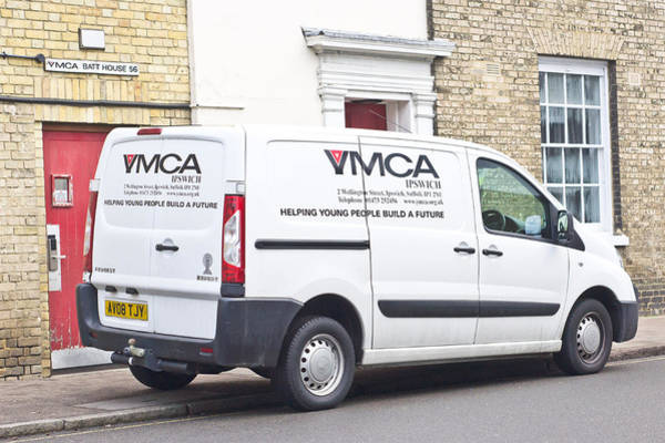 Volunteer Wall Art - Photograph - Ymca Van by Tom Gowanlock