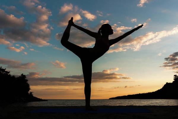 Adolescence Photograph - Yoga At Sunset by Kurt Budiarto Photography