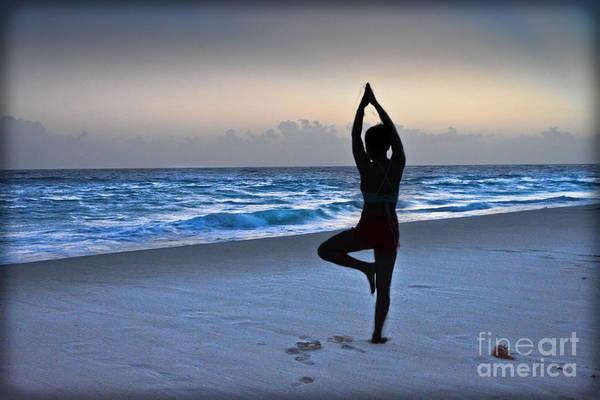 Photograph - Yoga Posing  by Gary Keesler