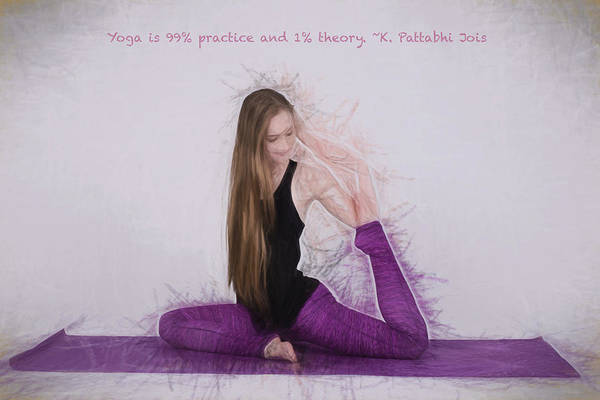 Photograph - Yoga Yogi Pose by David Haskett II
