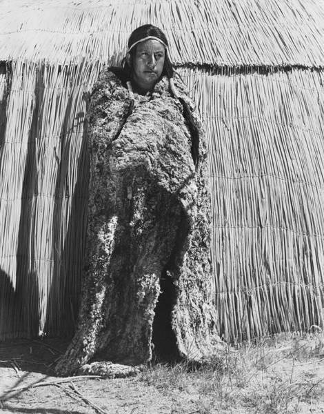 Photograph - Yokut Rabbit Blanket by Underwood Archives Onia