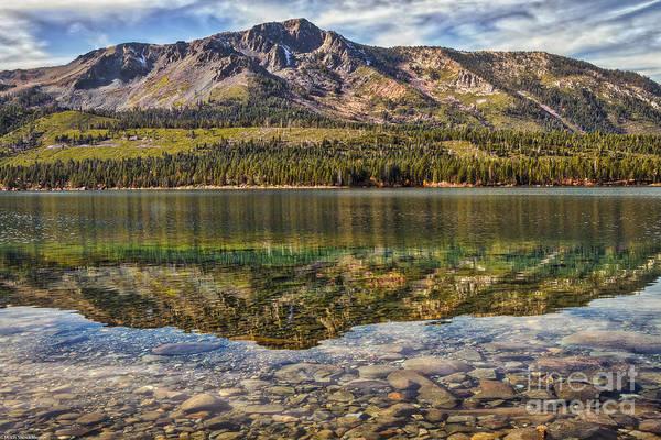 Fallen Leaf Lake Photograph - Yonder Mountain by Mitch Shindelbower