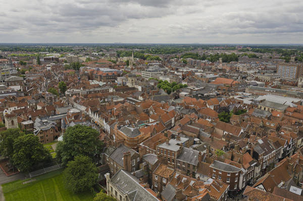 Photograph - York From York Minster Tower II by Pablo Lopez