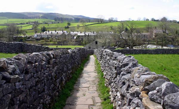 Grassington Photograph - Yorkshire Dales Path by Scott Perkins