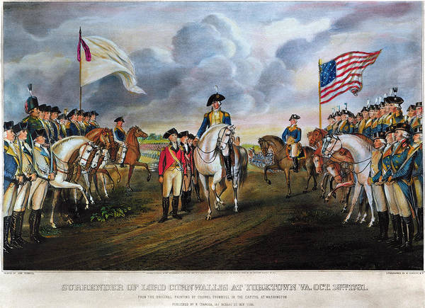 Wall Art - Photograph - Yorktown: Surrender, 1781 by Granger