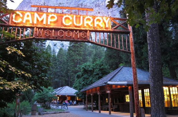 Photograph - Yosemite Curry Village by Shane Kelly