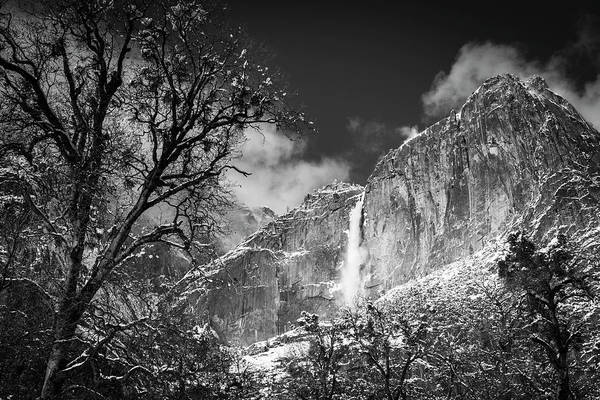 Untamed Photograph - Yosemite Falls After A Winter Storm by Russ Bishop