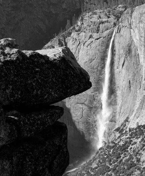 Photograph - Yosemite Falls by Jeff Lowe