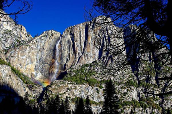 Photograph - Yosemite Falls Rainbow by Scott McGuire