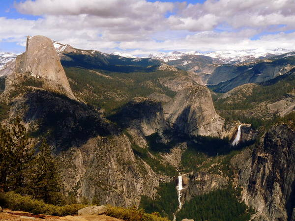 Photograph - Yosemite Glacier Point Panorama  by Jeff Lowe