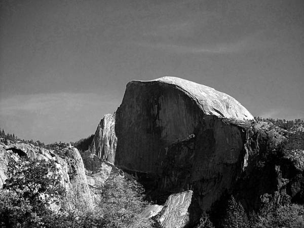 Photograph - Yosemite - Half Dome by Richard Reeve
