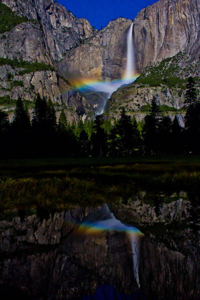 Northern California Wall Art - Photograph - Yosemite Moonbow by John McGraw