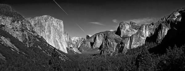 Anglin Wall Art - Photograph - Yosemite Panorama by Nathan Anglin