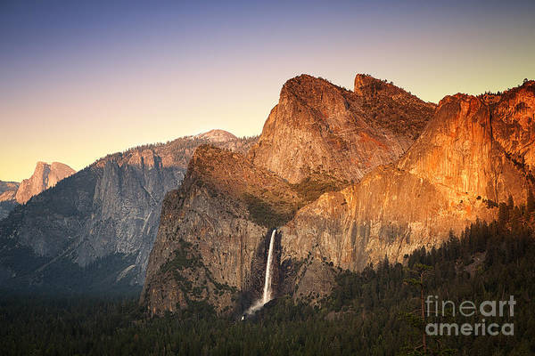 Dome Peak Photograph - Yosemite Sunset by Jane Rix