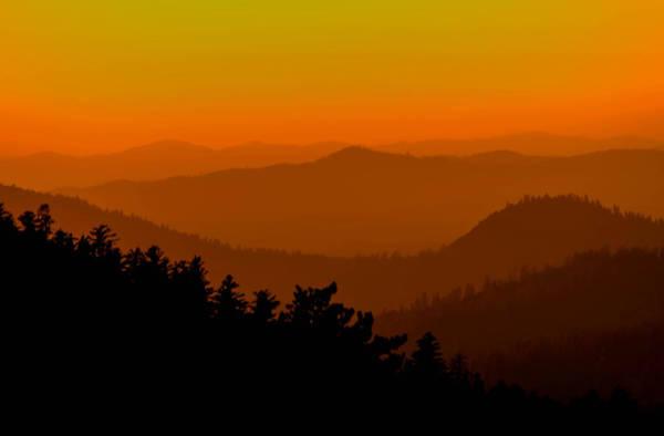 Tioga Photograph - Yosemite Sunset by Mike Ronnebeck