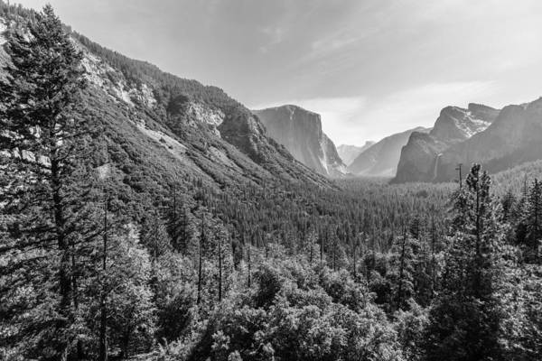 Photograph - Yosemite Tunnel View by Mike Evangelist