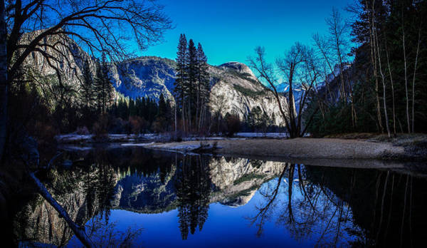 Yosemite Valley Merced River Reflection Art Print