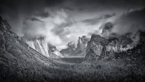 Valleys Photograph - Yosemite Valley by Mike Leske