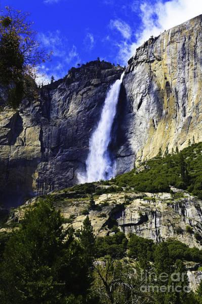 Photograph - Yosemite Waterfall by Richard J Thompson