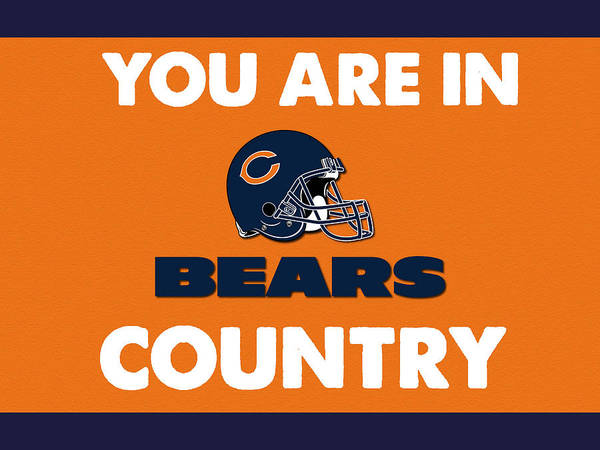 Drawing - You Are In Bears Country by Celestial Images