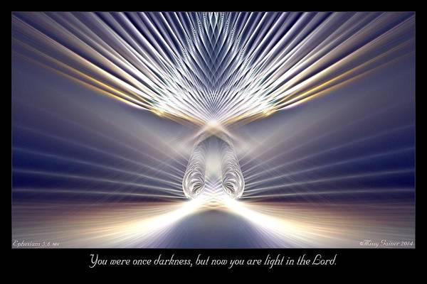 You Are Light Art Print