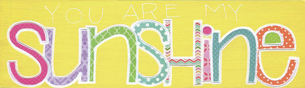 Wall Art - Painting - You Are My Sunshine II by Alli Rogosich