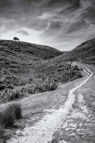 Church Stretton Photograph - Uphill by Peter Acs