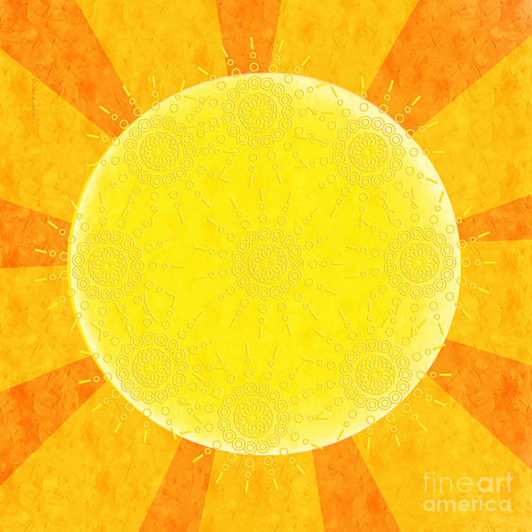 Digital Art - You Are The Sunshine Of My Life by Andee Design