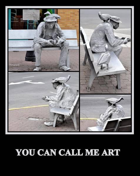 Photograph - You Can Call Me Art by AJ  Schibig