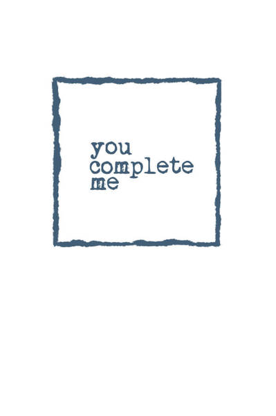 Wall Art - Painting - You Complete Me by Ramona Murdock