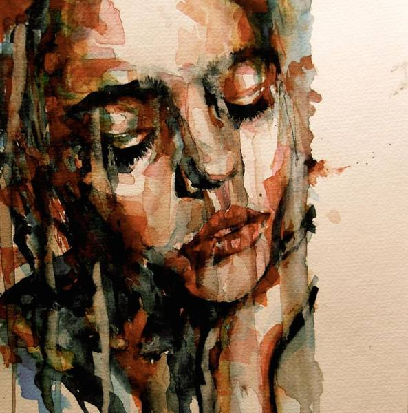 Sad Painting - You Ditch It All To Stay Alive A Thousand Kisses Deep by Paul Lovering