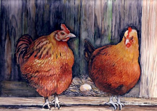 Painting - You Done Good Girl... by Val Stokes
