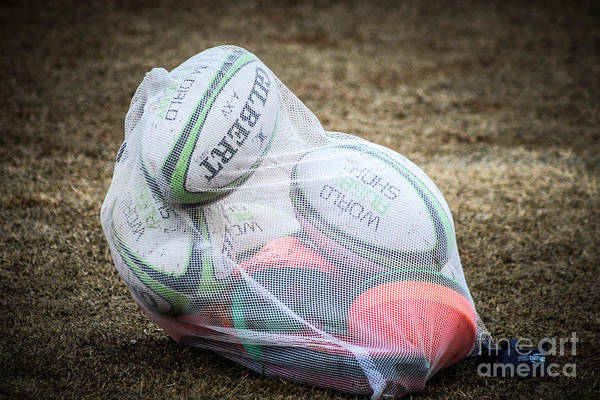 Photograph - You Gotta Have Balls To Play Rugby by George DeLisle