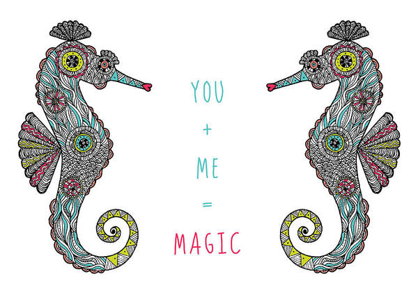 Wall Art - Photograph - You Plus Me Equals Magic by MGL Meiklejohn Graphics Licensing