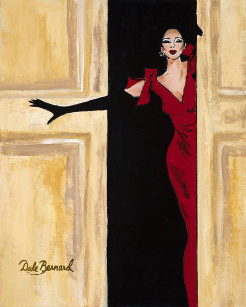 Painting - You Wear It Well by Dale Bernard